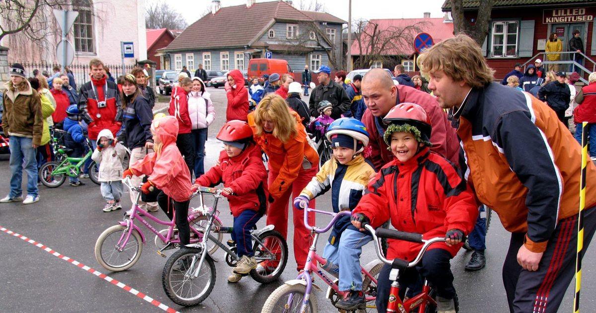 Traditsiooniline laste jalgrattavõistlus toimub suure tõenäosusega 1. mail