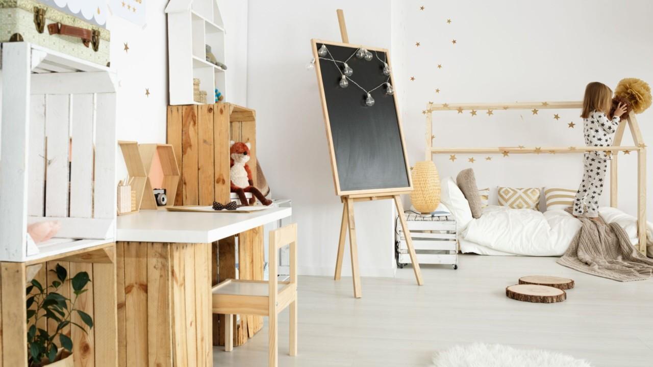 7 nippi, kuidas kujundada väikelapsele funktsionaalne tuba