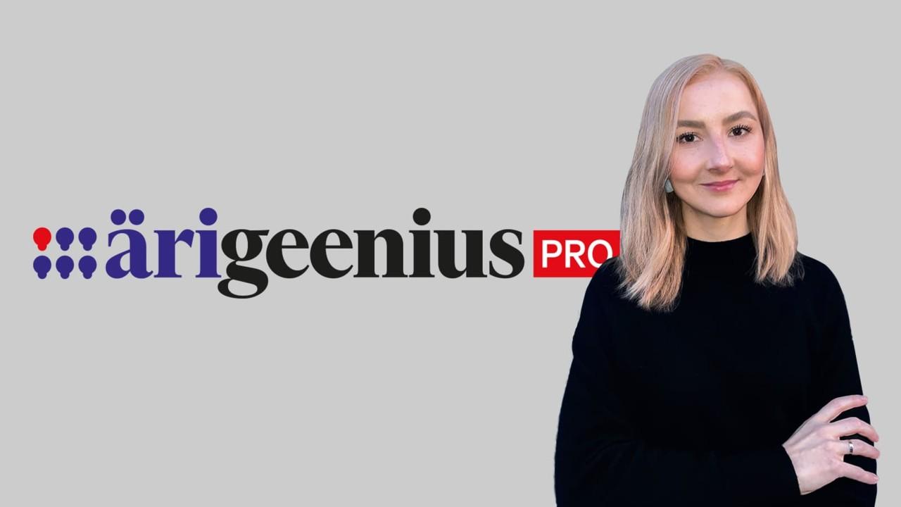 Geenius avas äriportaali ja muutub bännerivabaks