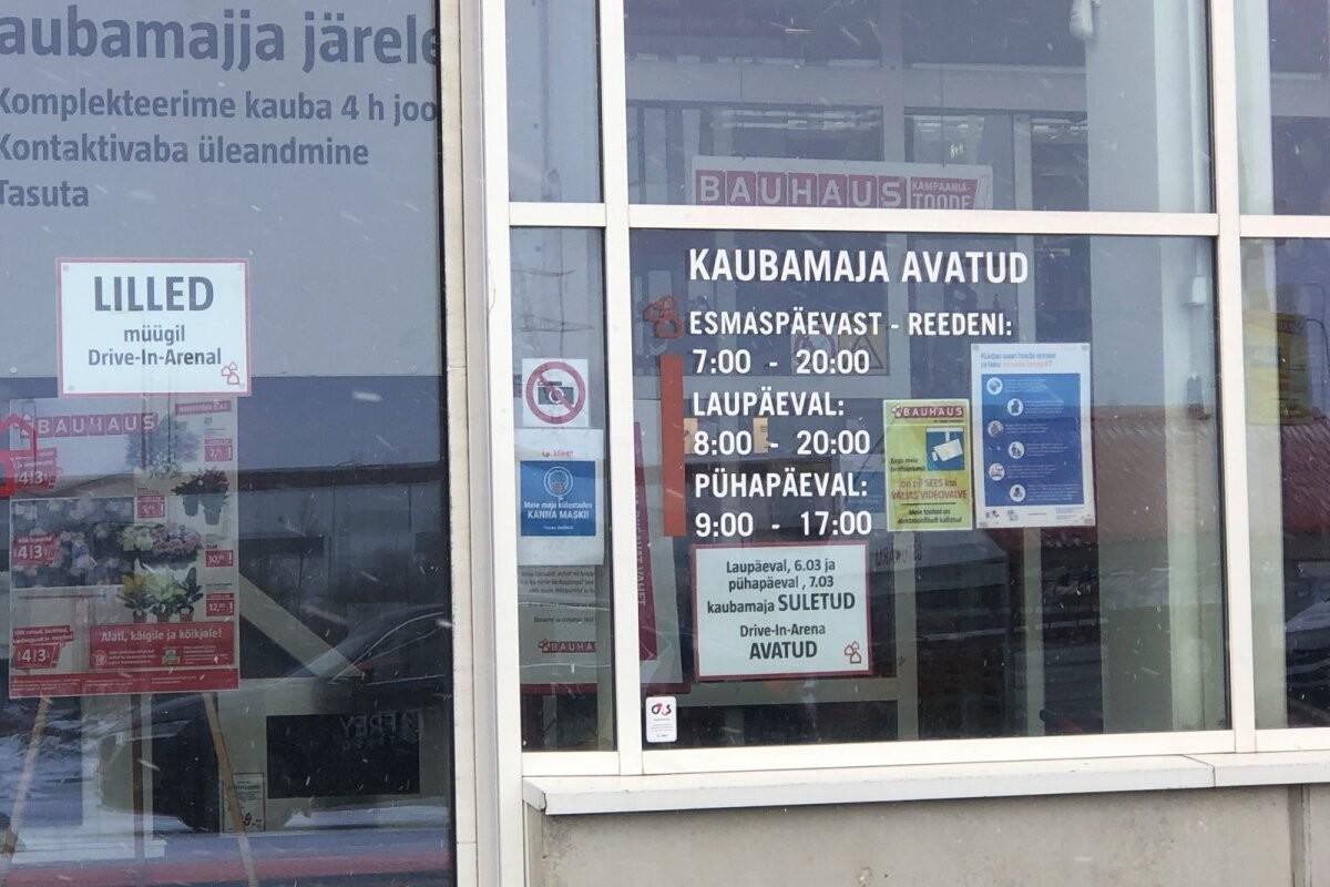 Sõna drive-in massiline valekasutus on pannud eestimaalasi kaupmeeste peale kaebama
