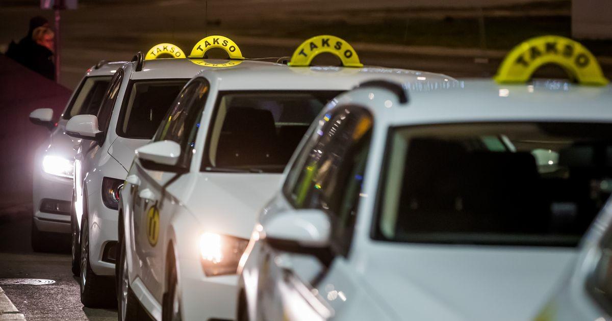 Taksod on libeduse tõttu väga hõivatud