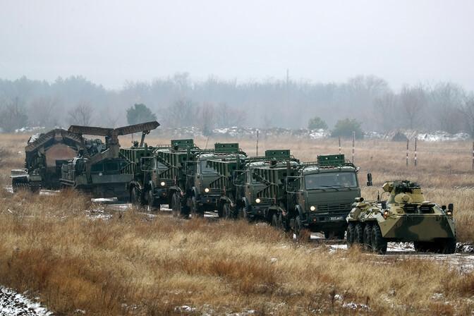 Ukraina kardab Venemaa vägede sissetungi