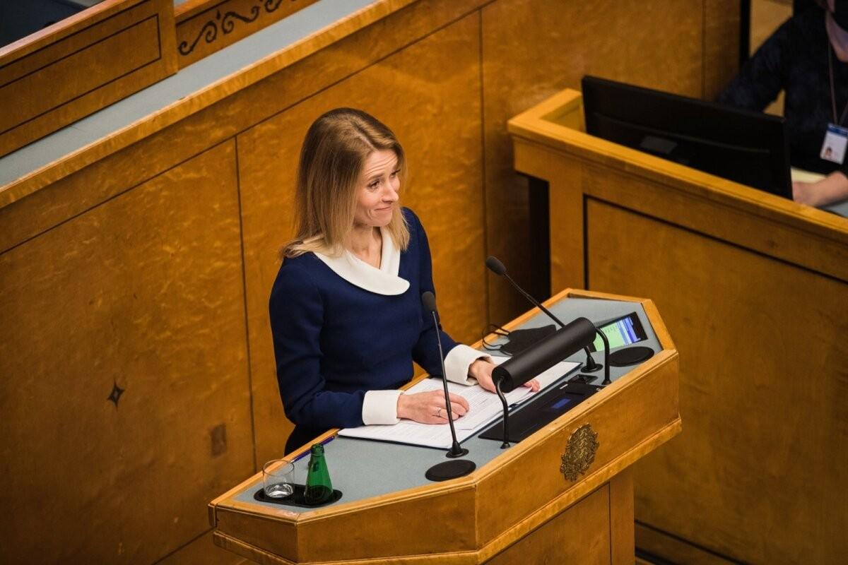 ÜLEVAADE ja VIDEO   Kaja Kallas pidi umbusaldamisel taluma kohatuid kommentaare ja isiklikke solvanguid