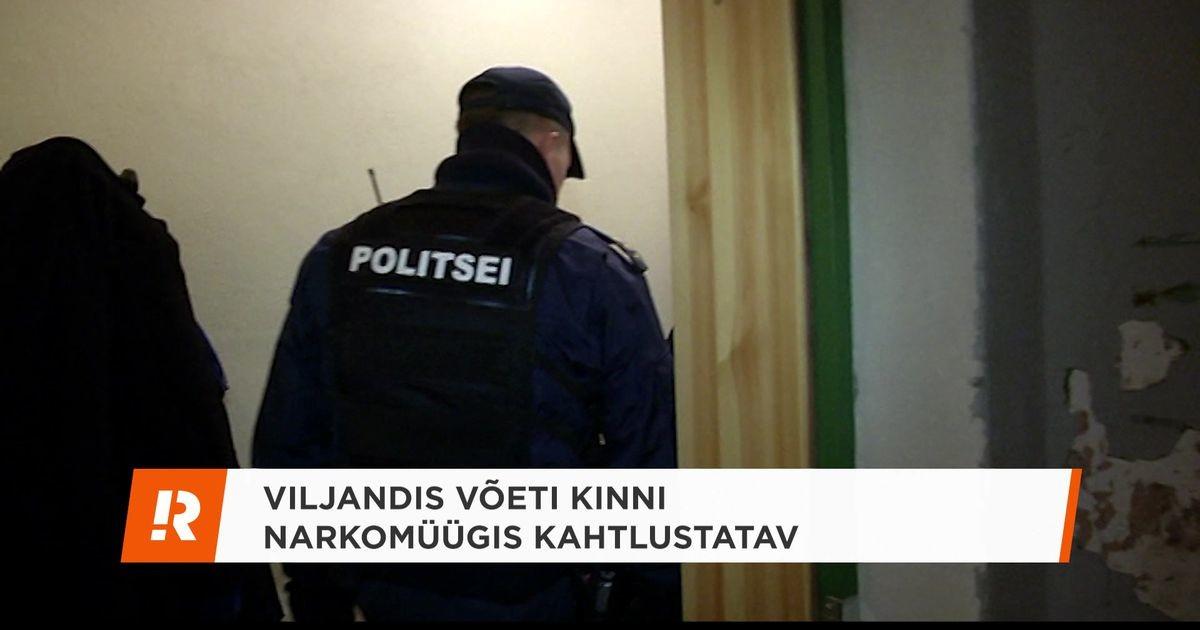 Reporter: Viljandis võeti kinni narkomüügis kahtlustatav