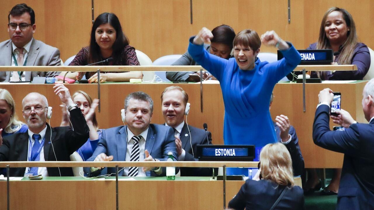 President Kaljulaidi arusaam tema õdede-vendade Aafrikast on digi-Tarzan