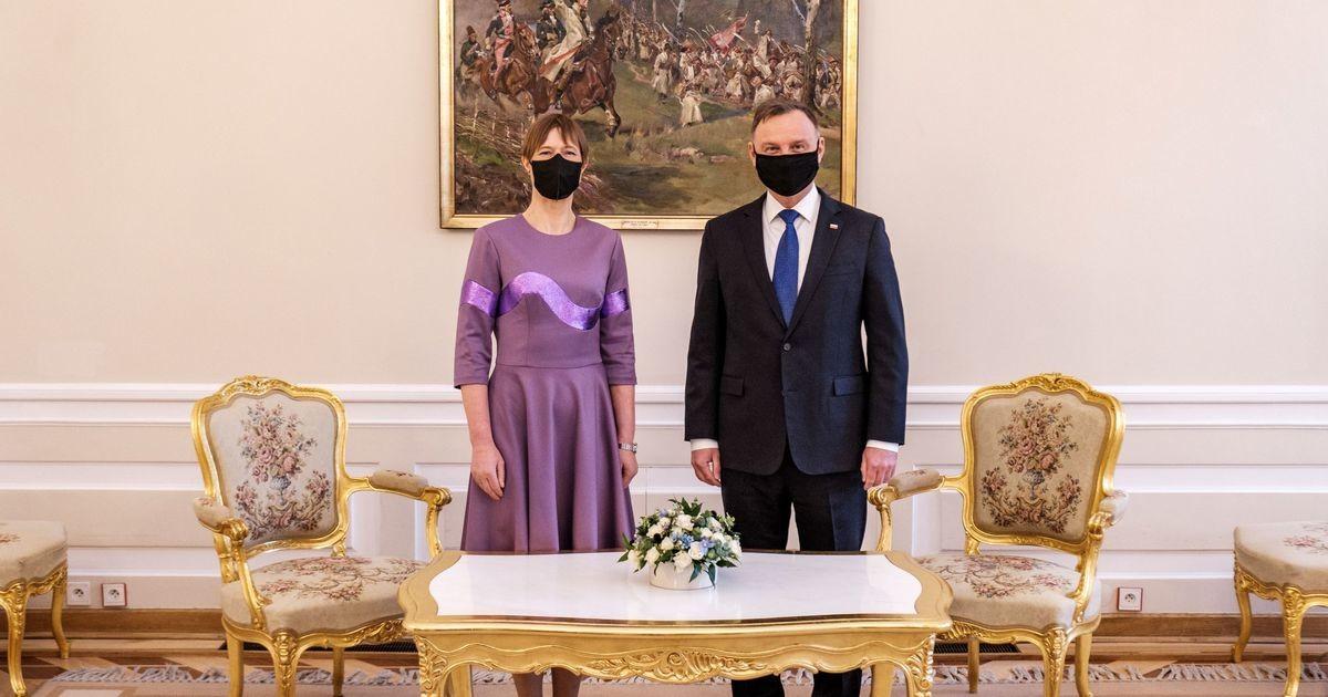 President Kaljulaid kohtus Varssavis oma Poola kolleegiga