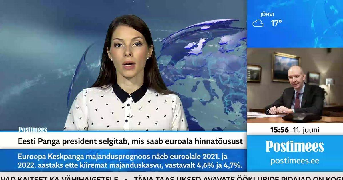 Eesti Panga president selgitab, mis saab euroala hinnatõusust