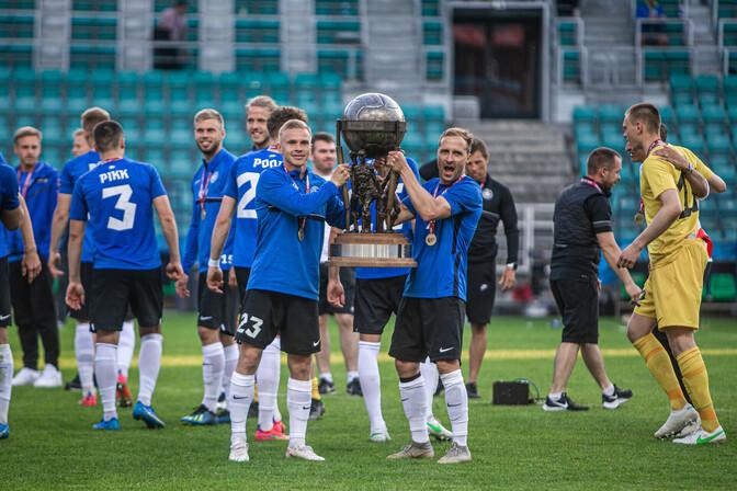 Balti turniiri võitjakarikas on järgmisest nädalast väljas spordimuuseumis