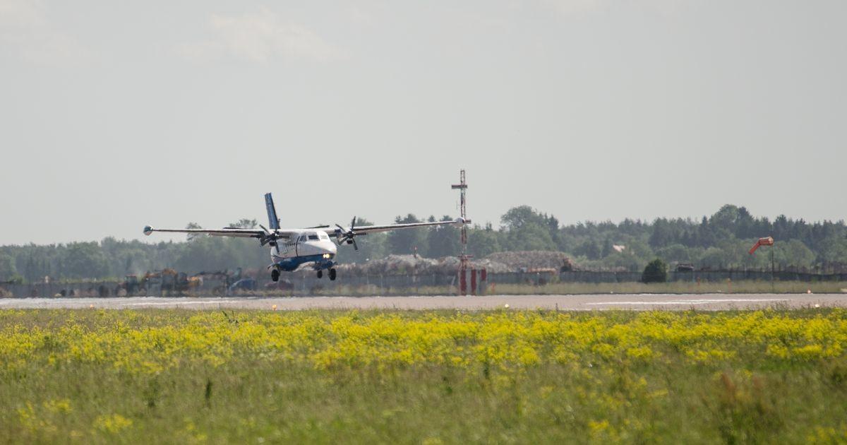 Lennukid teevad Saaremaa ja Hiiumaa teenindamiseks lisalende