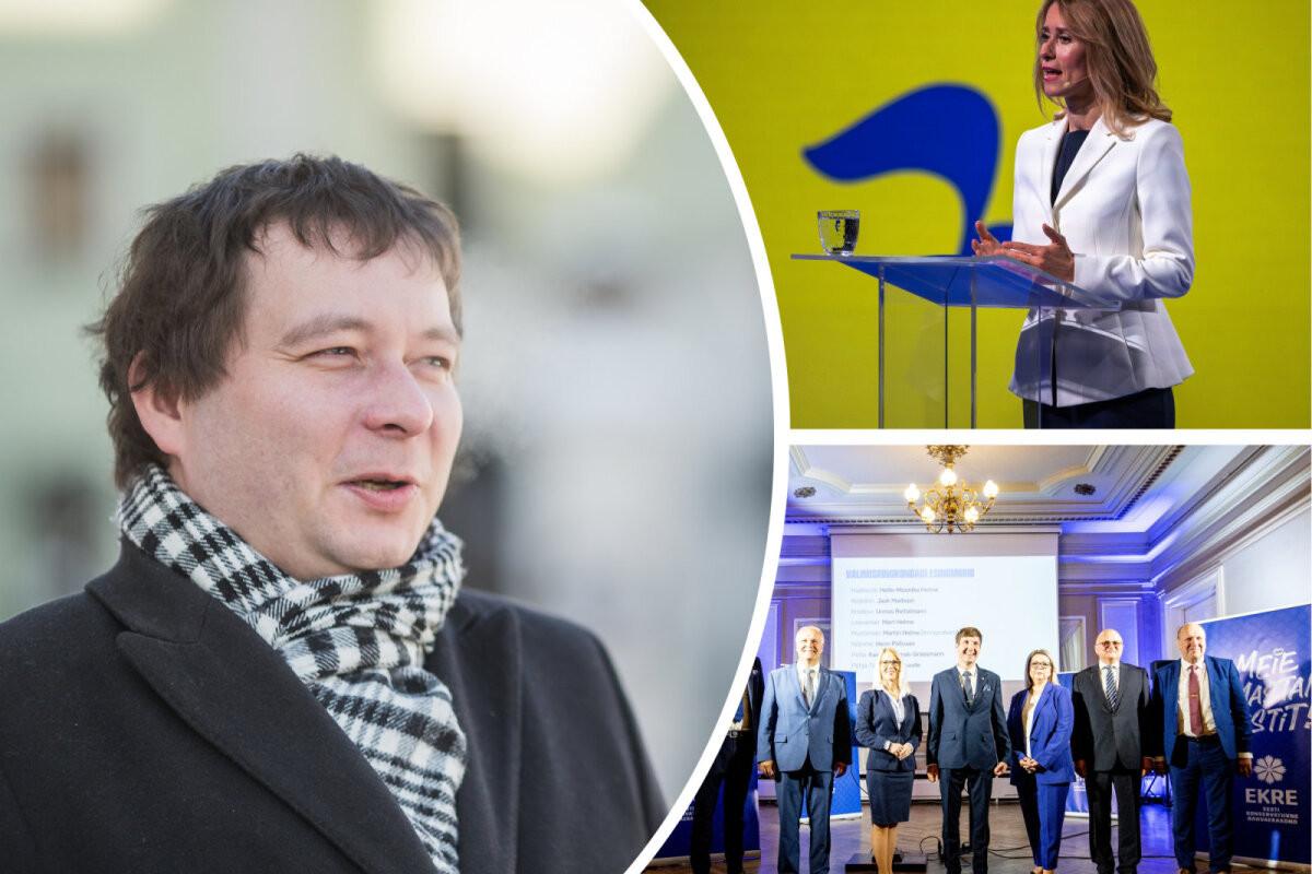 PÄEVA TEEMA   Peeter Espak: EKRE tõusu taga on eestlased, mitte vene valija