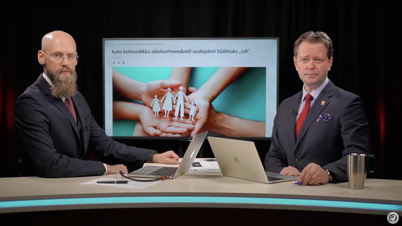 FOOKUSES ⟩ Keskerakond reetis abielureferendumi põhjalaskmisega oma valijad