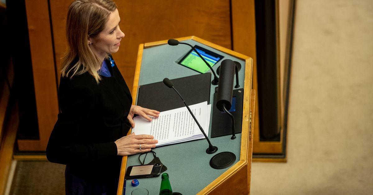 Riigikogu infotunnis vastavad küsimustele Kallas, Kersna ja Liimets