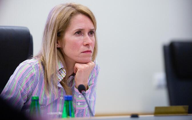 Kaja Kallas: piirangute rikkumisele peavad järgnema trahvid
