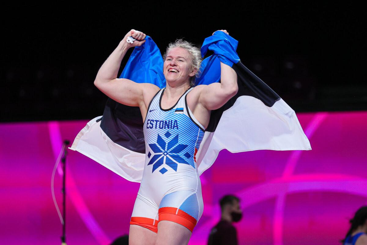 Euroopa meister Epp Mäe: suur rõõm oli Eestile kuldmedal tuua!