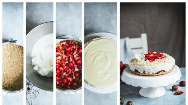 SAMM-SAMMULT | Väga lihtne maasikatega kohupiimakook emadepäevaks lastele valmistada