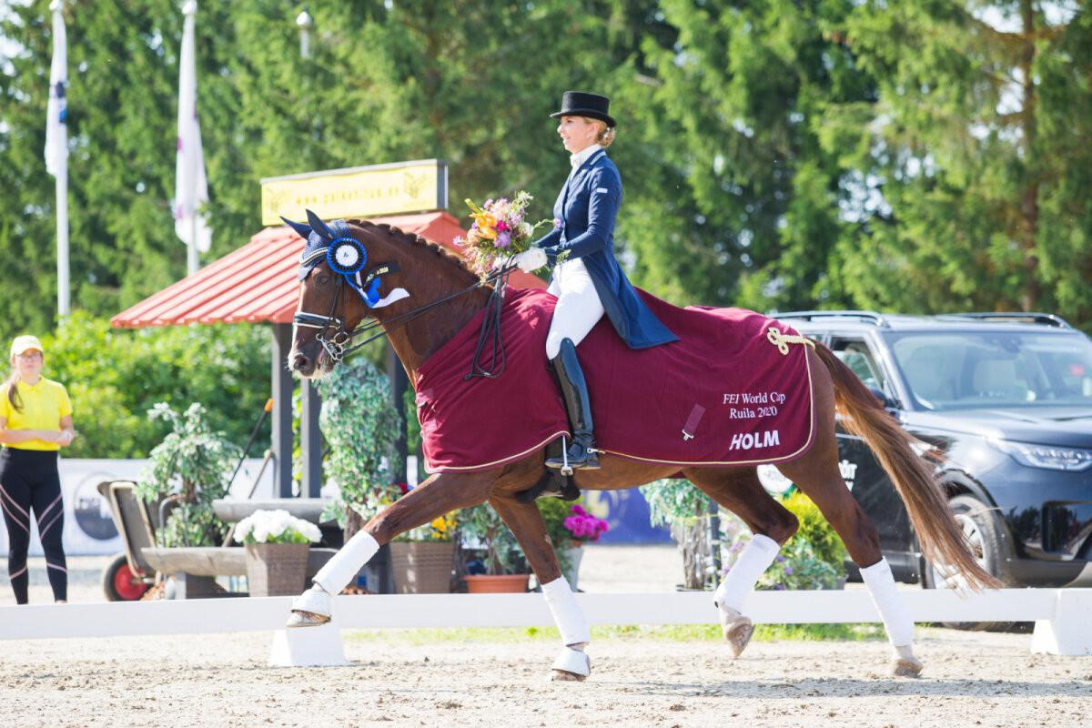 Vahva uudis: Eesti ratsutaja on lähedal Tokyo olümpiapääsmele!