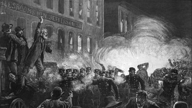 TÖÖRAHVAPÜHA SÜND: Chicago tööliste streik lõppes plahvatuse ja ebaõiglase kohtuprotsessiga