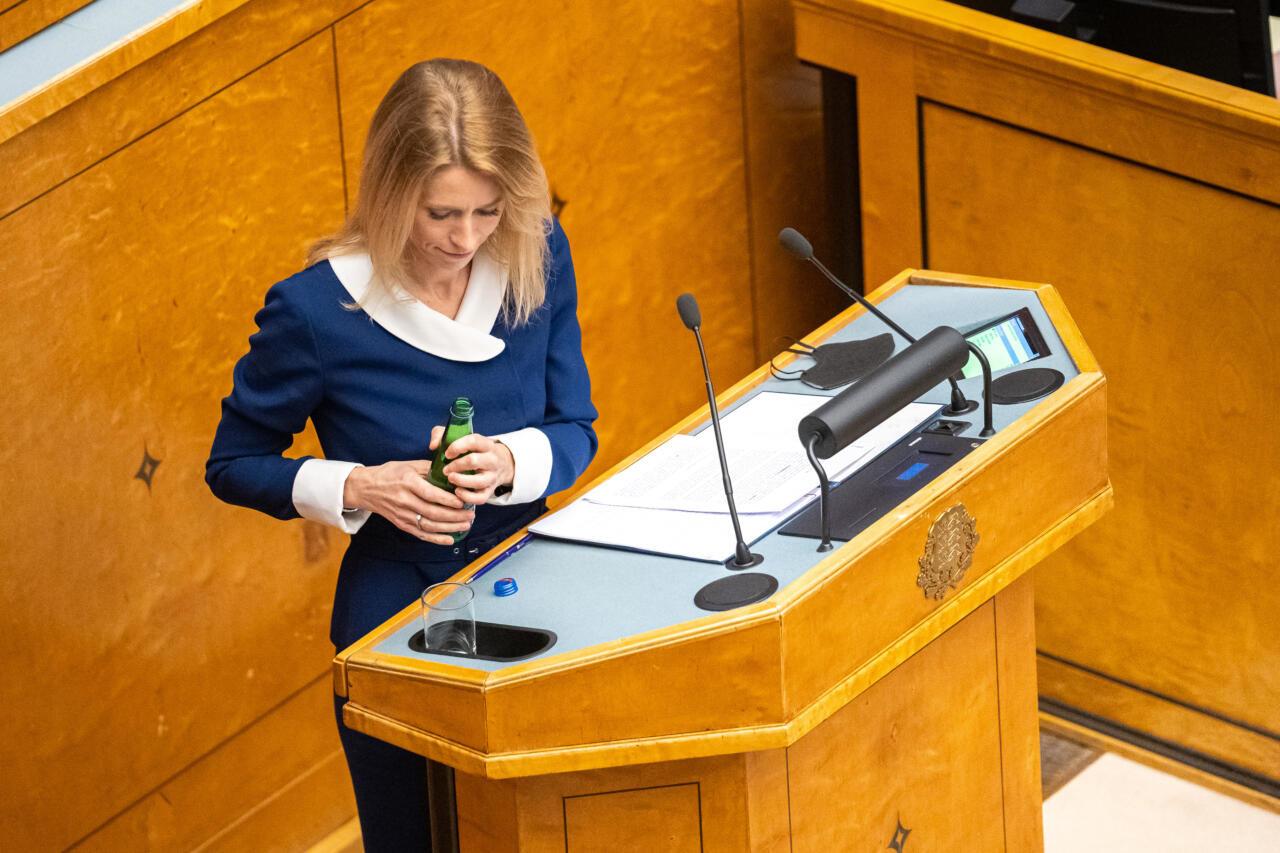 Peaminister Kaja Kallas jätkab endistviisi: mina olen igati  tubli, aga mida te ise valitsuses olles tegite