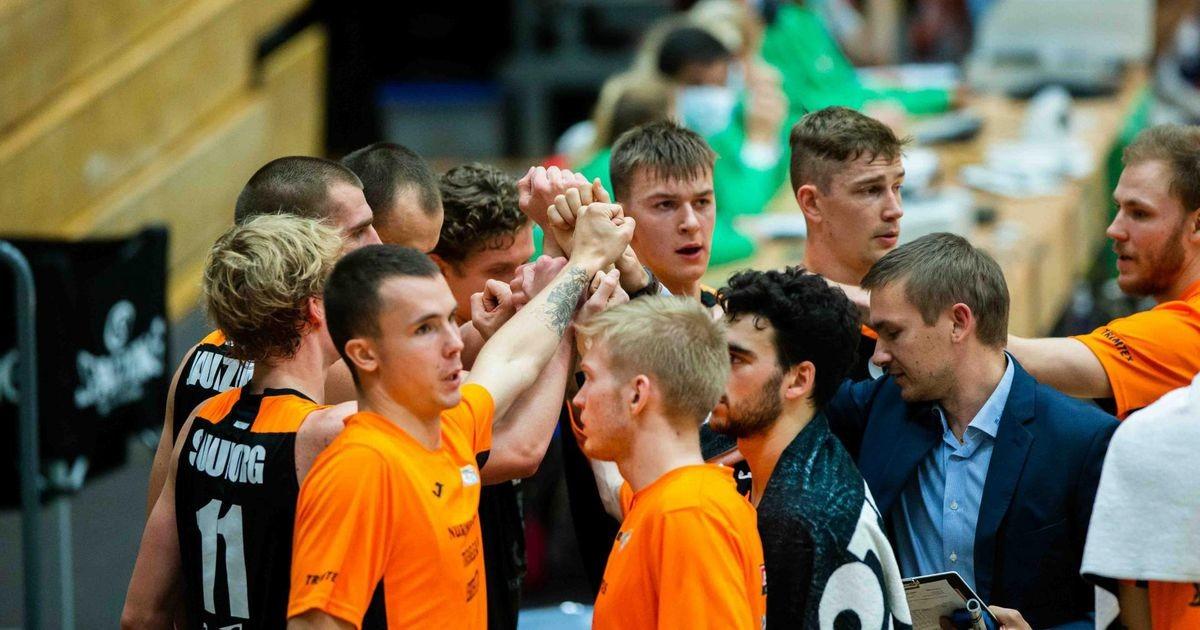 Pärnu Sadama korvpallimeeskond põles taas tähtsas mängus läbi