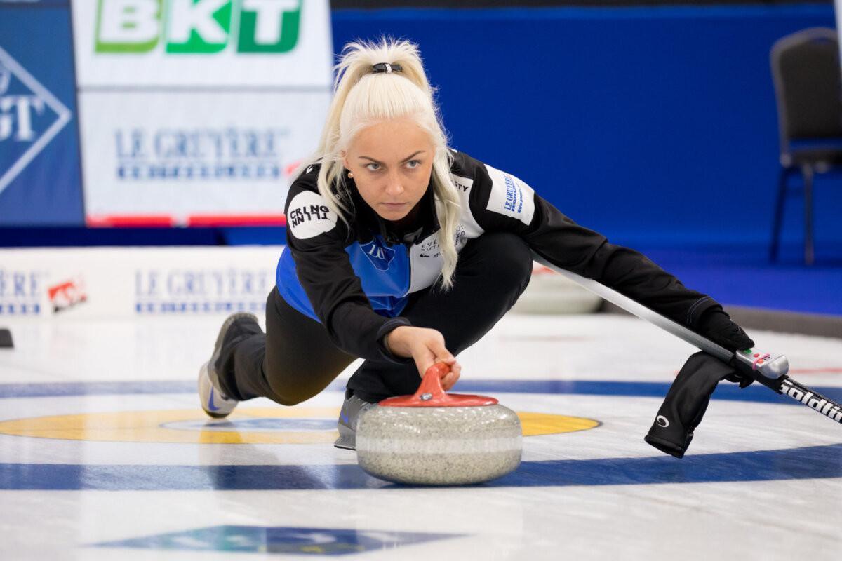 Eesti kurlingunaiskond sai MM-il ajaloolise võidu