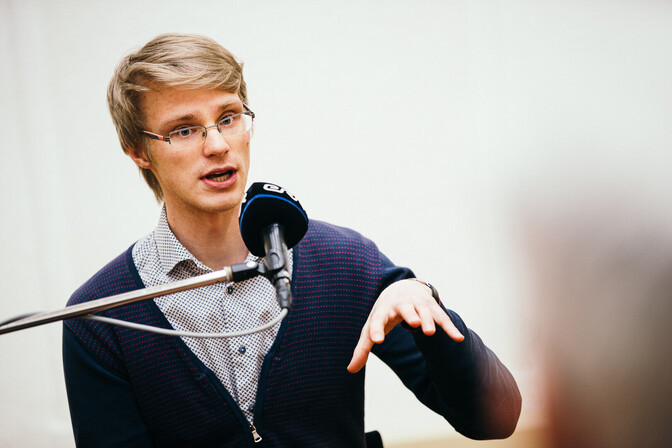 Helilooja Rasmus Puur: hinged on praegu inimestel natuke tühjad