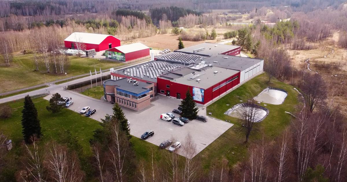 Värska Vesi kattis tootmishoone päikesepaneelidega
