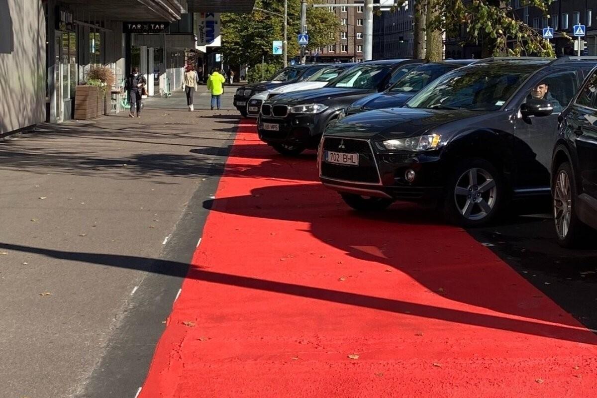 PILTUUDIS | Tallinna uuest rattateest sai autoparkla