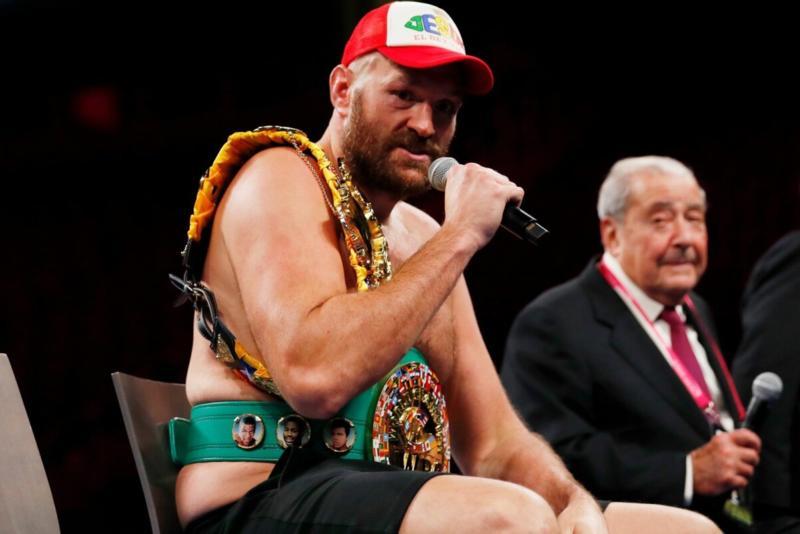 Tyson Fury tulevikust: mul on leping veel üheks matšiks, edasine on lahtine