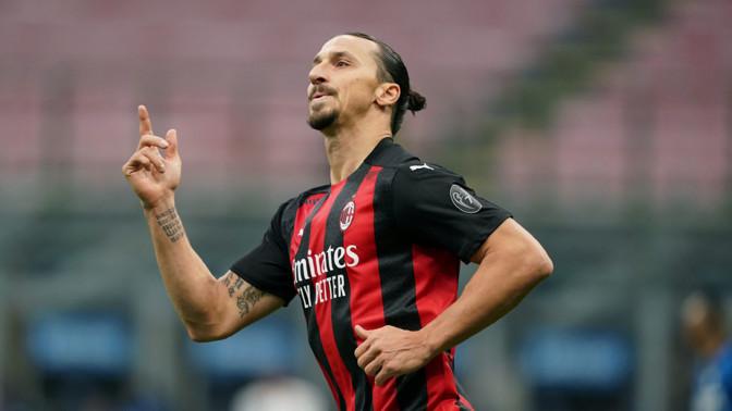 Igihalja Ibrahimovici kaks väravat aitasid Milani derbimängus võidule