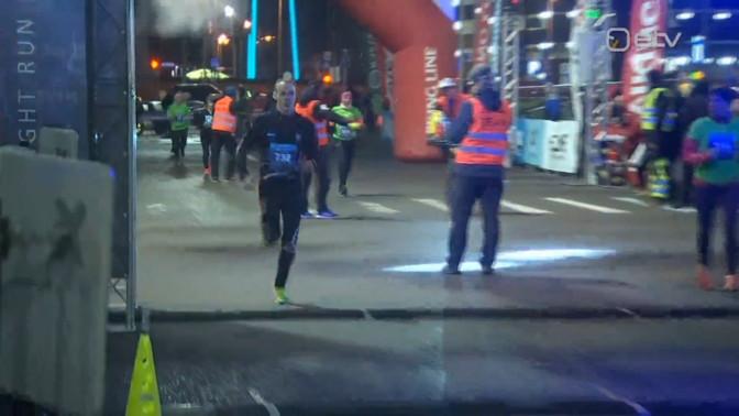Esimest korda Ülemistes toimunud Ööjooksu võitsid Kovaljov ja Veskla