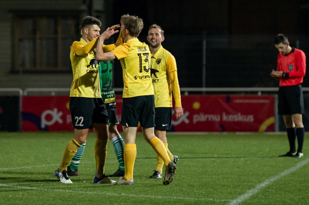 Läänlastest jalgpallurid Eesti tippliigades edukad