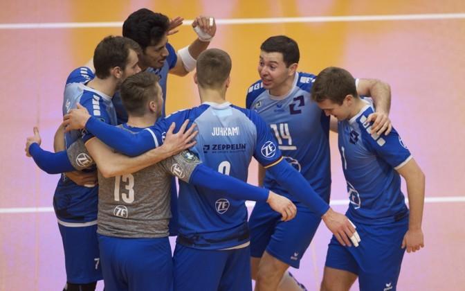 Saksamaal mängivate Eesti võrkpallurite vastasseisus jäi peale Juhkami