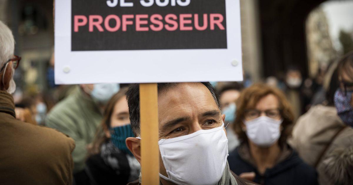 Prantsusmaal mälestatakse tapetud õpetajat