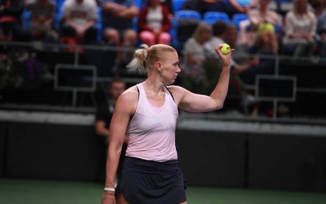 Kaia Kanepi võitis settigi kaotamata turniiri Prantsusmaal
