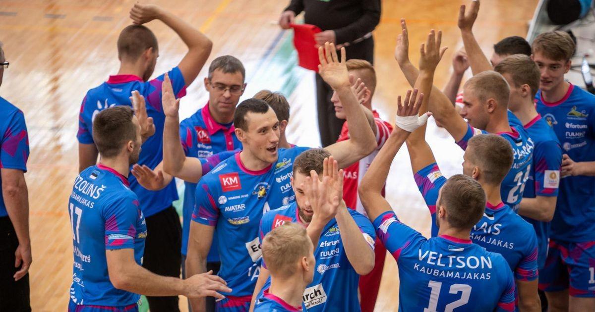 Pärnu võrkpalliklubi alistas kodusaalis Leedu klubi kuivalt