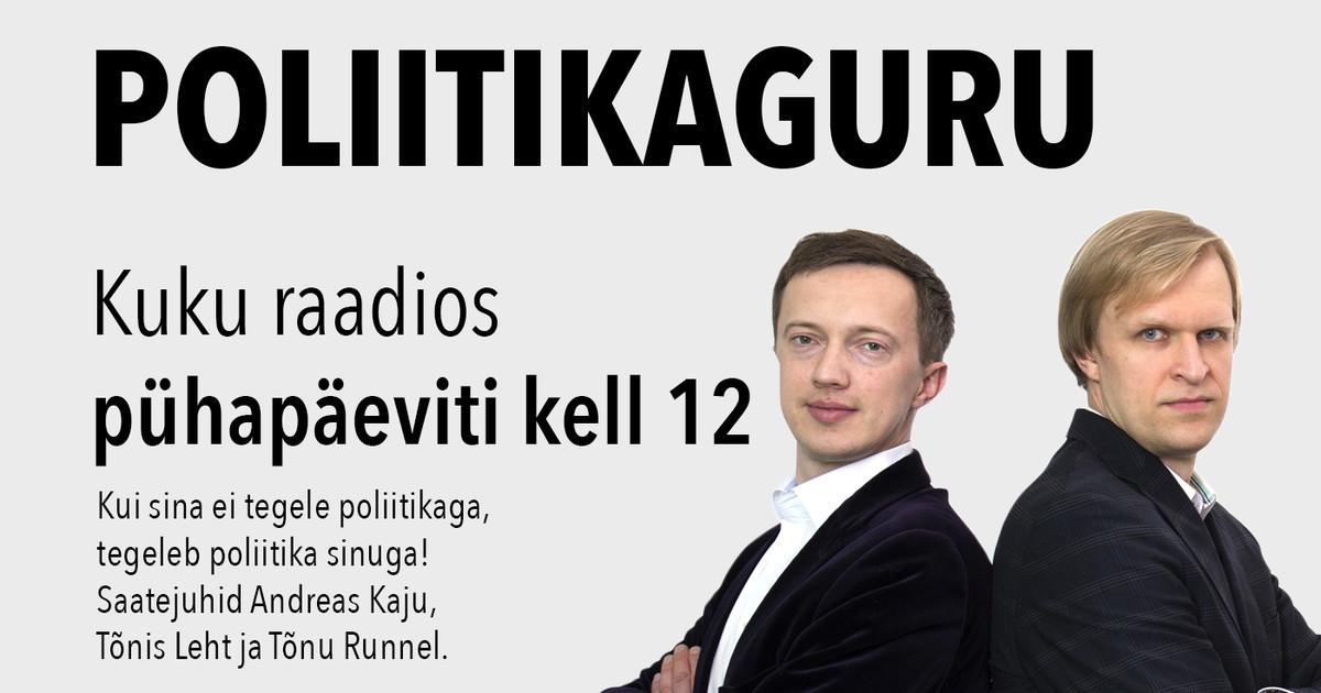«Nagu oleks tohutu vahe, kas osa Eesti inimesi peaksid Rootsi jooksma või Rootsis jooksma»
