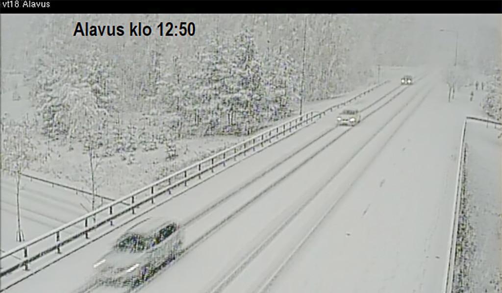 Lapimaal sadas maha 35 cm lund, homme esmaspäeval saabub lumi Soome lõunaossa