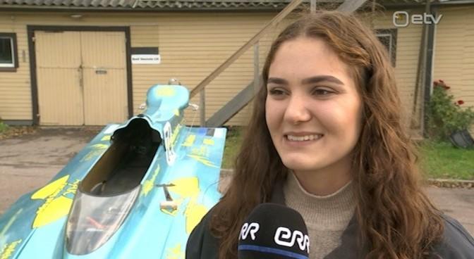 19-aastane Sanna Aaslav-Kaasik jätkab medalitega suguvõsa traditsioone