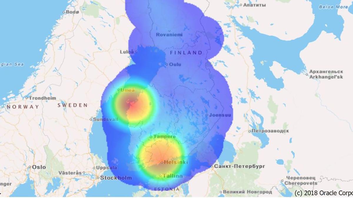 Soomes alustas uus vabatahtlik koroonaveeb, mis näitab, kus oht on kõige suurem