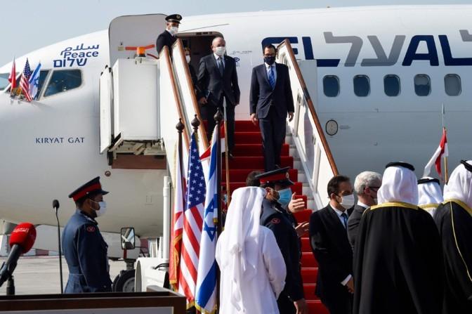 Iisrael ja Bahrein vormistasid diplomaatilised suhted kahe riigi vahel