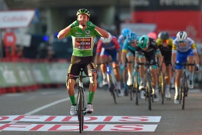 Roglic teenis Vueltal kolmanda etapivõidu ja tõusis liidriks