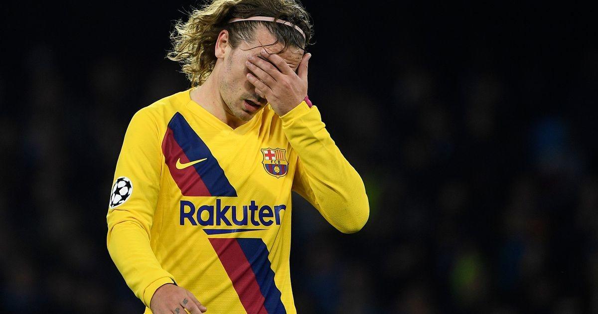 Barcelona fännid välja vihastanud Griezmann sattus Hispaanias rünnaku osaliseks