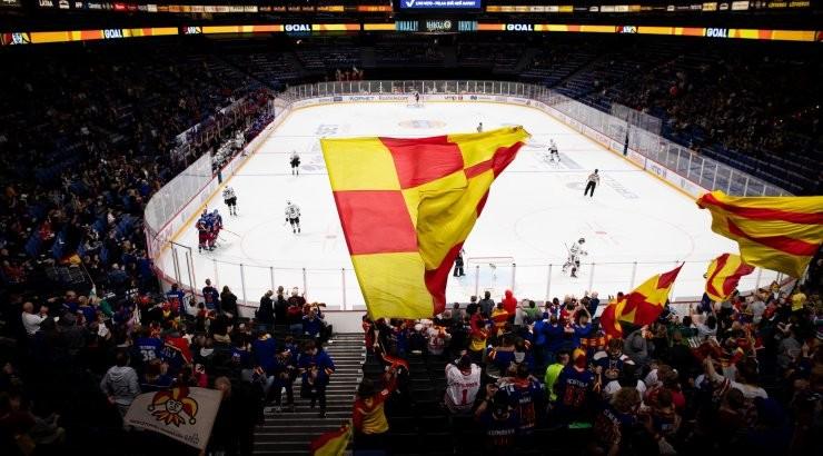 Jokerite KHL-i kodumängul puhkes tulekahju, osa pealtvaatajaid evakueeriti