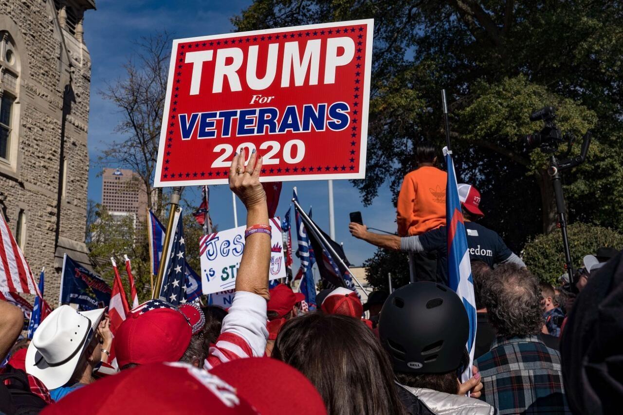 Trumpi meeskond nõuab häälte ülelugemist Georgia osariigis