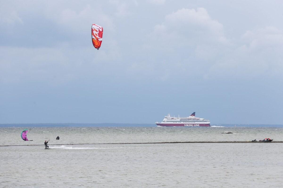 Tallinki konkurendi laev sõitis teist korda karile
