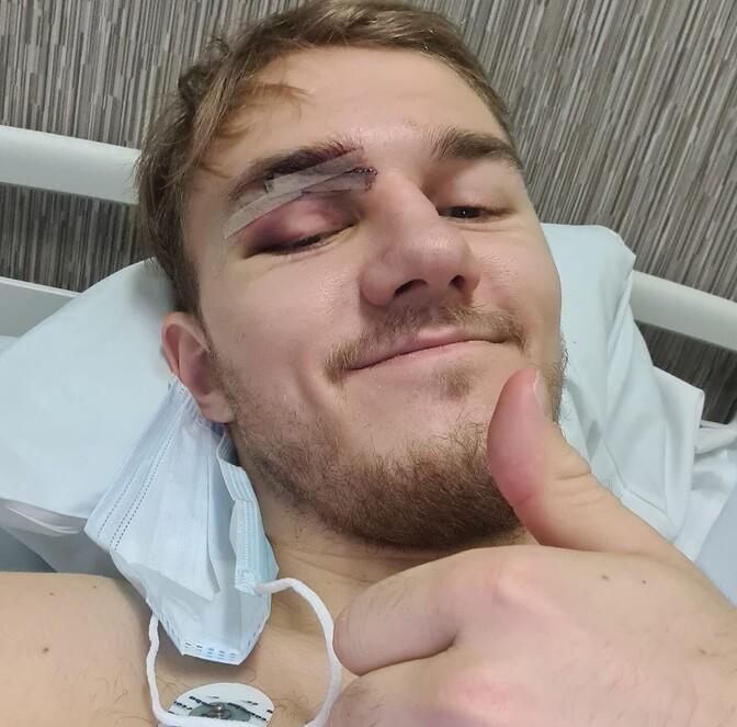 Koljuluu murdnud Rakvere Tarva mängija käis operatsioonil