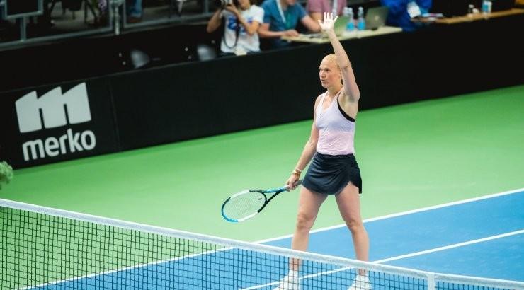 OTSEPILT   Kaia Kanepi jahib karjääri 18. ITF-i tiitlit, avasett kindlalt eestlannale