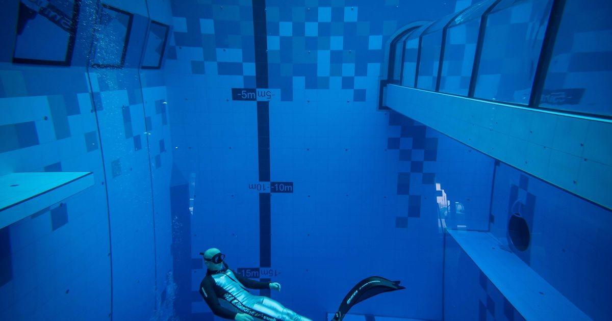 Poolas avati maailma sügavaim sukeldumisbassein