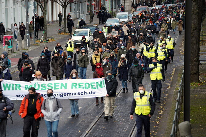 Saksa välisminister kritiseeris koroonapiirangute võrdlust natsismiga