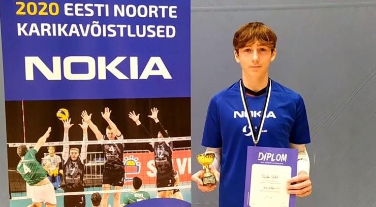 VIDEO | Veel üks Täht: Eesti koondise võtmemängija 15-aastane vend valiti turniiri parimaks